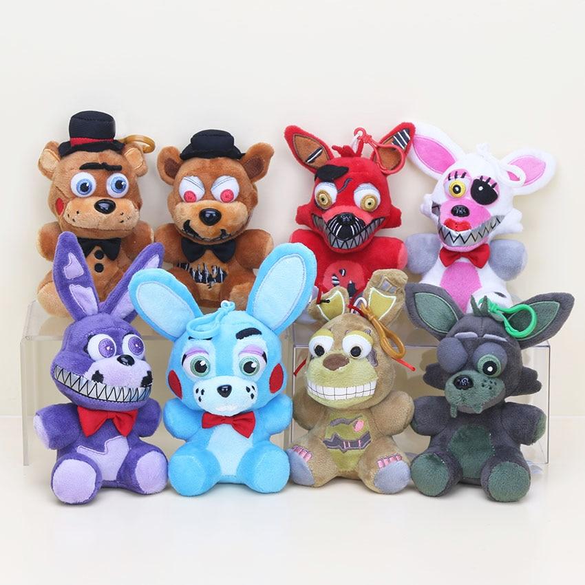 8PCS/SET 14cm FNAF Plush Toy Five Nights At Freddy's