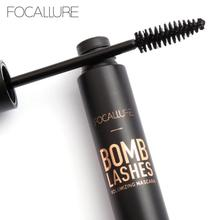 Фотография Focallure Black Mascara Waterproof Lengthening Curling Thick Fake Eyelash 4D Extremely Long Lasting Volume Mascara Maquillage W1