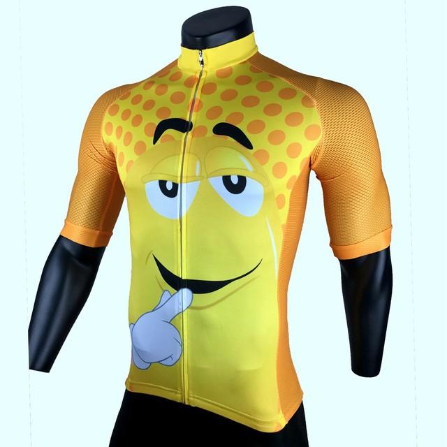 Cycling Jersey 2017 Racing Sport Bike Jersey Tops Mtb Cartoon