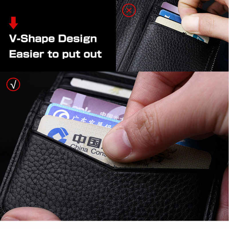 Дизайнерский кожаный мужской тонкий мини-кошелек из натуральной кожи, мужской маленький кошелек, кредитная карта, цена за доллар PL250
