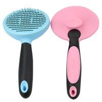 Pet Dog Cat Hair Remove Brush Comb Shedding Tool Round Head Brush Mild Touch Comb Rake