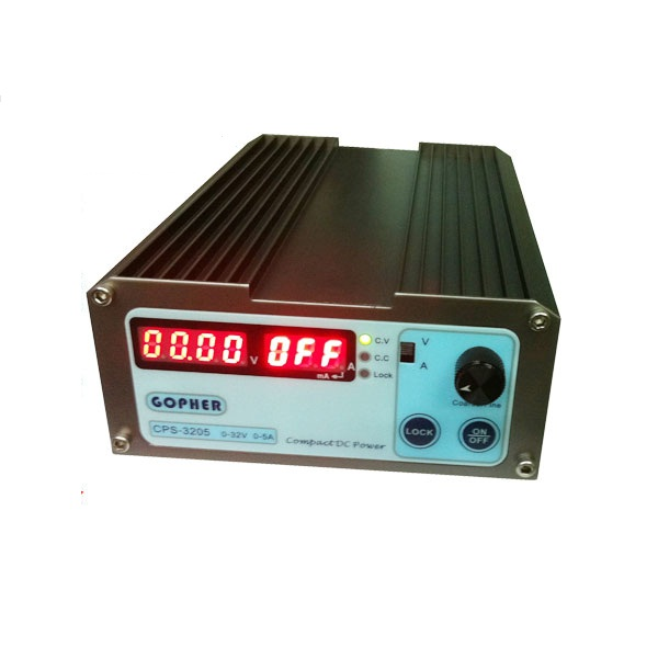 CPS-3205 160W 220Vac 0-32V/0-5A Compact Digital Adjustable DC Power Supply CPS3205 cps 3205ii compact mini variable adjustable dc power supply 0 32v 0 5a ac110 240v