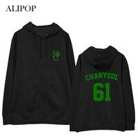 ALIPOP Kpop EXO The War 4th Album Hoodie Hip Hop Casual Cotton Hoodies With Hat Pullover