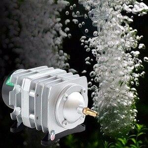 Image 2 - 45L/min 25W אלקטרומגנטית מדחס אוויר אקווריום חמצן אוויר בריכת משאבת Aerator