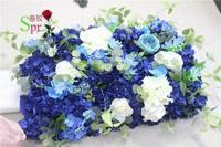 SPR 2 м/шт. свадебного стола центральным Бал цветов Свадебные украшения Искусственный Арка цветы партия home фон декоративные flore