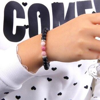 Bracelet Mala En Rhodonite