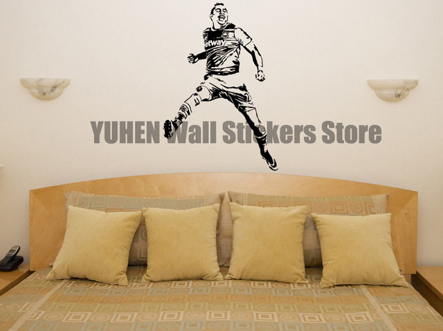 Voetbal Slaapkamer Accessoires : Payette wanddecoratie voetbal west ham ster kunstenaar art