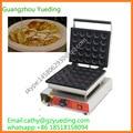 Коммерческий Poffertjes плита электрическая Poffertjes чайник машина 25 штук Мини блины машина для продажи