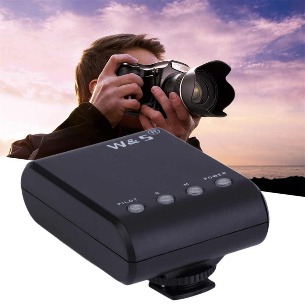WS-25 Portable Mini Digital Slave Flash Speedlite Flash with Universal Hot Shoe GN18 for Canon Nikon Pentax Sony