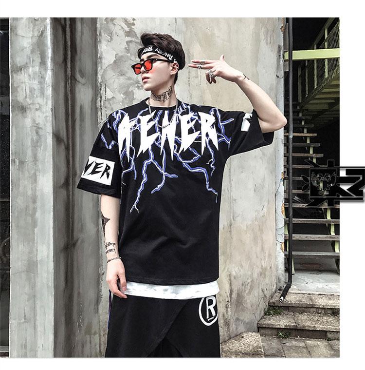 Graphic Tshirts Men Fashion Casual Short Sleeve   (9)