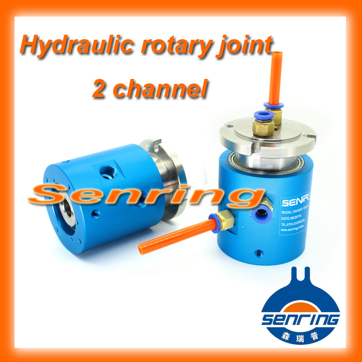 ФОТО Rotary joint SNQ series 2 channels 3002006 hydraulic-Electrical slip ring