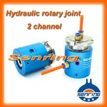 Joint rotatif SNQ série 2 canaux 3002006 hydraulique-bague collectrice Électrique