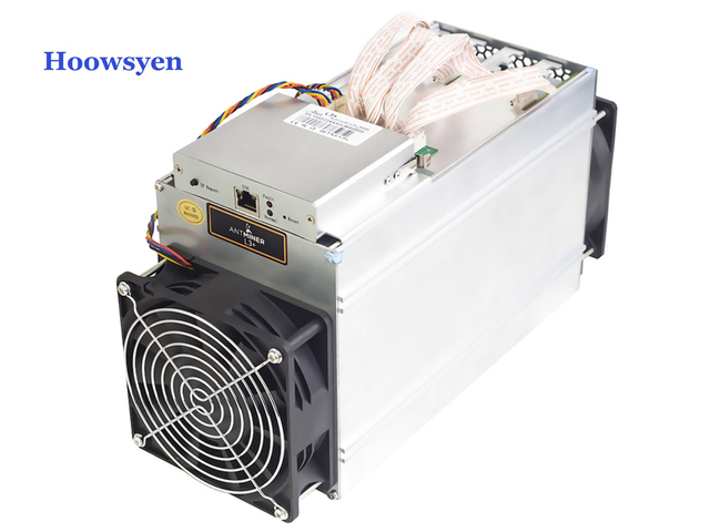 New Antminer L3+ 504M Bitcoin Miner with power supply APW3-1600 Asic Mining Machine