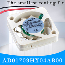 Купить с кэшбэком COOLING REVOLUTION AD01703HX04AB00 1704 17x17x4mm 3.3V 0.10A Micro device fan UAV fan