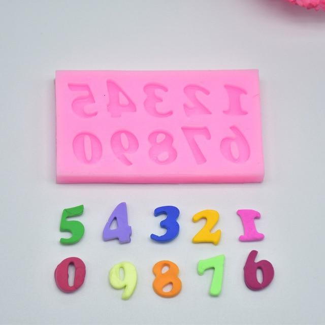 diy del alfabeto nmero de molde de silicona fondant de decoracin de pasteles de cumpleaos
