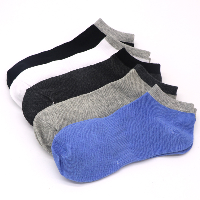 5Pairs Dress Men Socks Spring And Summer Casual Male Low Socks Invisible Shallow Mouth Thin Ankle Socks Chaussettes Hommes
