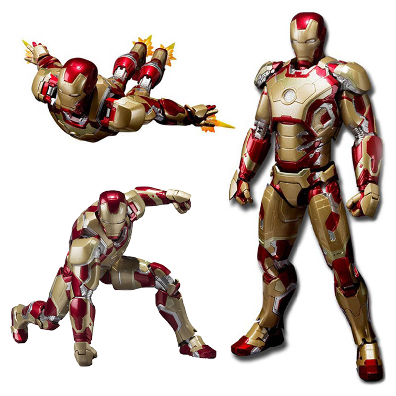 New Style The Avengers Infinity War Iron Man Cartoon Toy PVC Action Figure Collection Model Movie Game Toys Gift For Kids #E