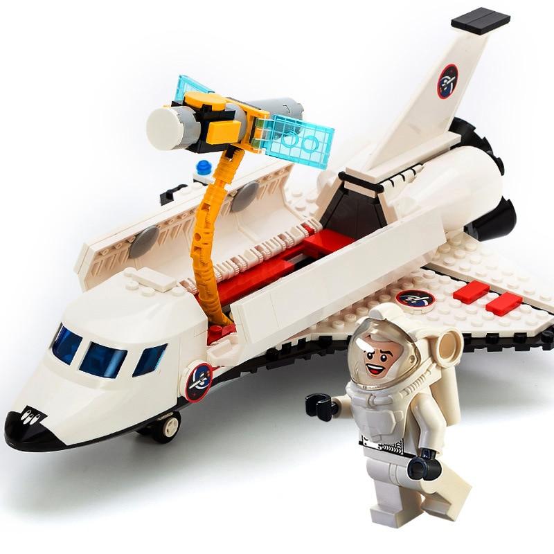 GUDI Spaceport Ruang Seri Shuttle Blok Bangunan Batu Bata Kompatibel - Mainan bangunan dan konstruksi - Foto 5