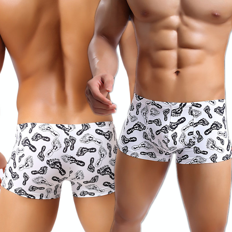 Fashion Nylon Men Sexy Transparent Boxer Underwear/Funny Fishnet Gay See  Through Bulge Pouch Shorts Panties