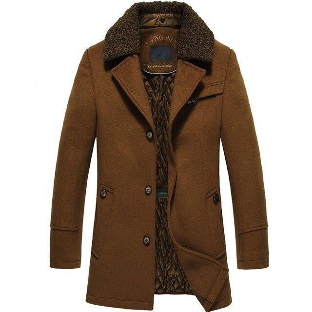 Vintage Mens Winter Wool...