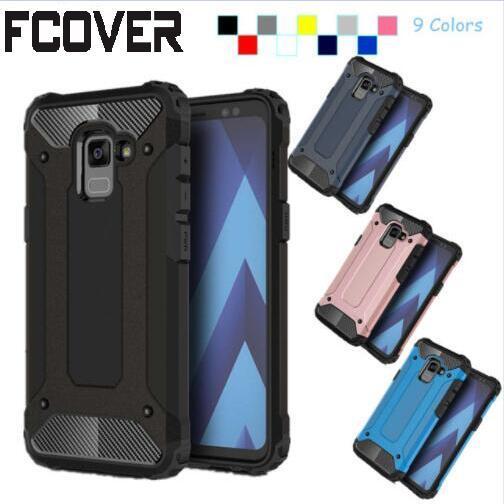 info for d0a4c b1ad8 For Samsung Galaxy A8 Plus 2018 Case Slim Armor Hybrid Tough Rubber ...