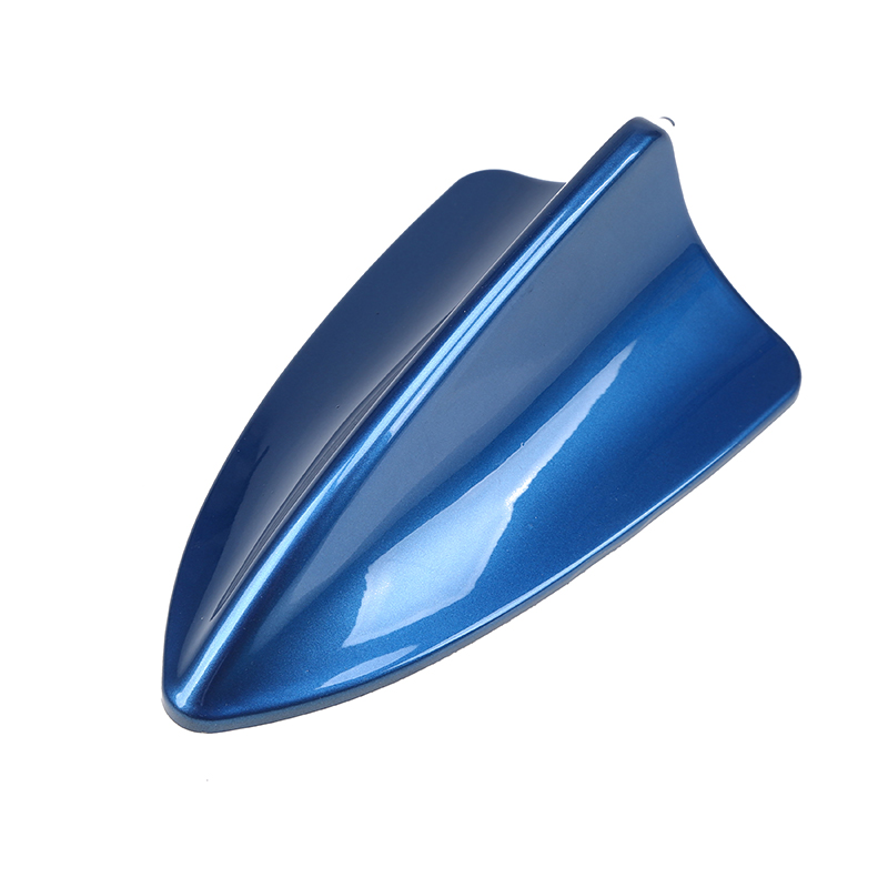 POSSABY универсальная ABS автомобильная антенна Акулий плавник антенны синий Автомобильная крыша украшение в виде антенны для Mercedes-Benz/Volkswagen Ford
