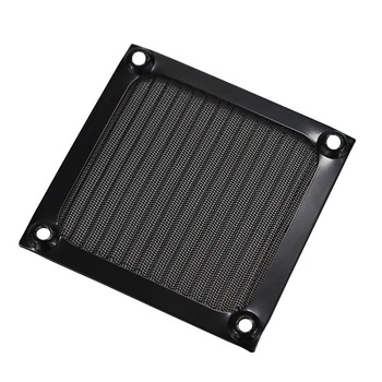 1 PCS 80mm Aluminum Cover Dust Filter for PC Cooling Chassis Fan Grill Guard case Dustproof net. image