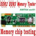 Envío libre tarjeta de memoria DDR2 DDR3 probador Puede detectar la Detección de múltiples tarjetas de memoria memoria FLASH chip de buena o mala