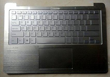 New for Sony Vaio SVF13N15CLS SVF13NA1UU Palmrest English US laptop Keyboard backlit silver touchpad cover case new for sony vaio svf142190x svf14213cx svf14211clb svf14213clb 14 0 laptop palmrest english us keyboard black non backlit