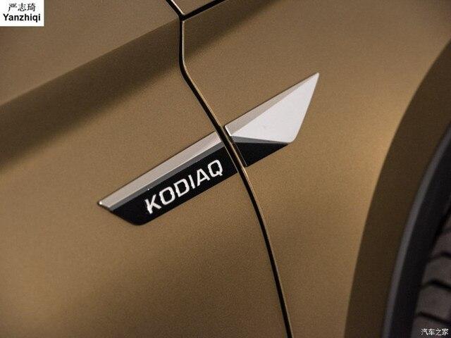 For 2017 2018 Skoda Kodiaq Karoq Original Side Wing Fender Door