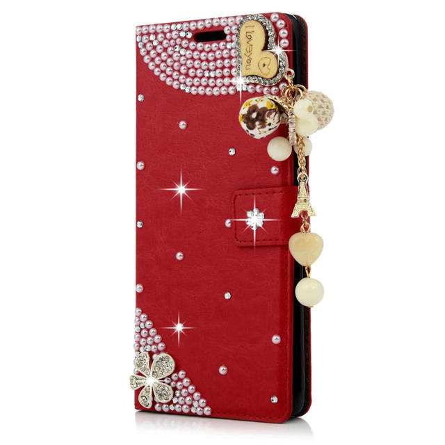 YOKIRIN Luxury Diamond Case Coque For Samsung Galaxy Note 8 Rhinestone  Wallet Stand Flip PU Leather 0aad6f1e25bb