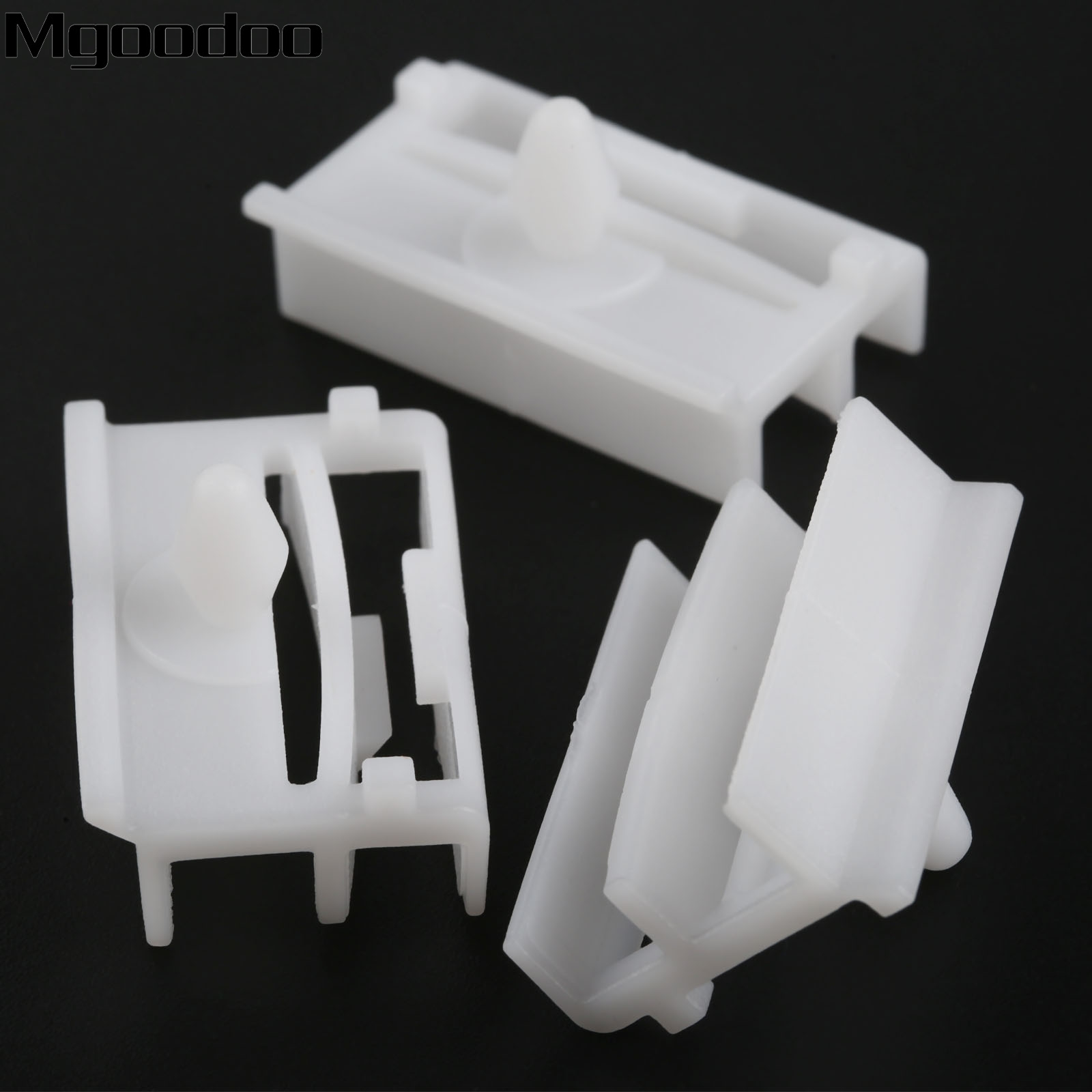 10pcs Sill Side Skirt Moulding Clips Door Trim Panel Fastener Clip 51718184574 For BMW E36 E46 Car Plastic Rivets Automobile New in Auto Fastener Clip from Automobiles Motorcycles