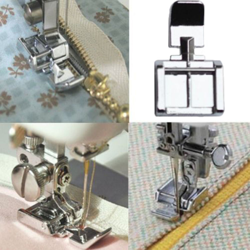 Hot Zipper Foot 40 Sides For Sewing Machine Brother Janome Singer Stunning Singer Or Brother Sewing Machines
