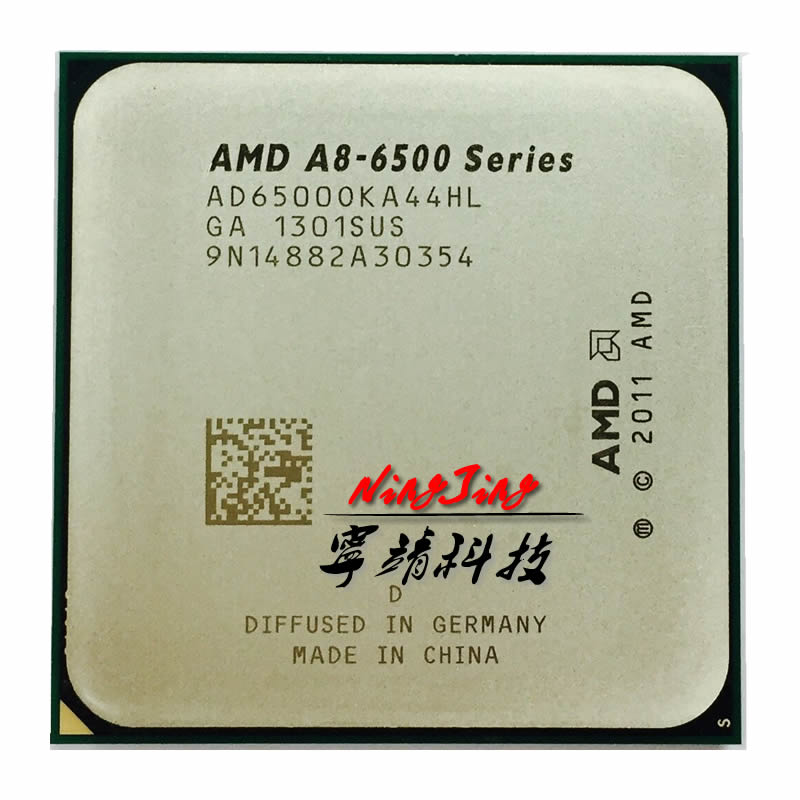 AMD A8 Series A8 6500 A8 6500k CPU AD6500OKA44HL 3 50GHz 4 1GHz Turbo Socket FM2
