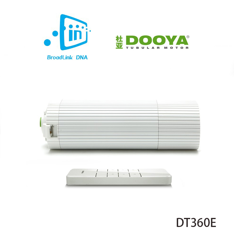 broadlink днк dooya dt360e - Broadlink DNA Dooya DT360E WiFi Electronic Curtain Track Motor 45W Remote Control by IOS Android Phone Smart Home Automation