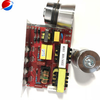 40K 100W ultrasonic oscillator circuit board with piezoelectric transducer converter|Ultrasonic Cleaner Parts|Home Appliances -