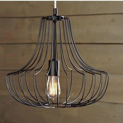 DIA40cm/60cm Quality Novelty Iron Metal Cage Net Wire Pendant Lights ...
