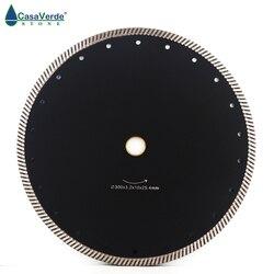 Gratis verzending DC-CRTB10 12 inch circulaire diamant zaagblad 300mm turbo doorslijpschijf voor graniet