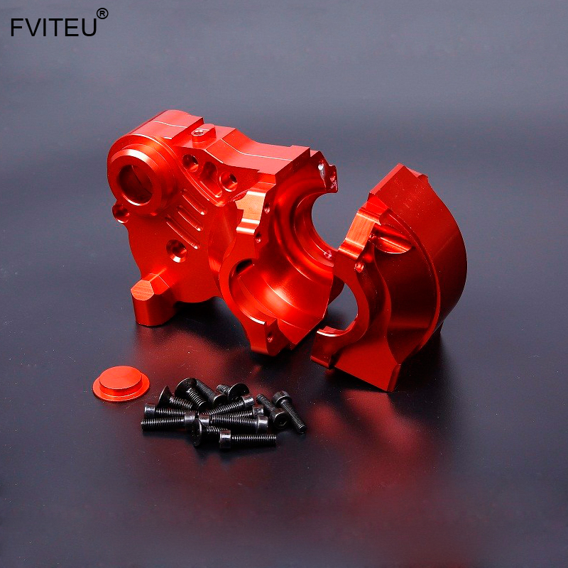 FVITEU  Metal three-section gear box for Complete Diff Gear Box Parts for 1/5 HPI BAJA 5B SS 5T 5SC King Motor RovanFVITEU  Metal three-section gear box for Complete Diff Gear Box Parts for 1/5 HPI BAJA 5B SS 5T 5SC King Motor Rovan