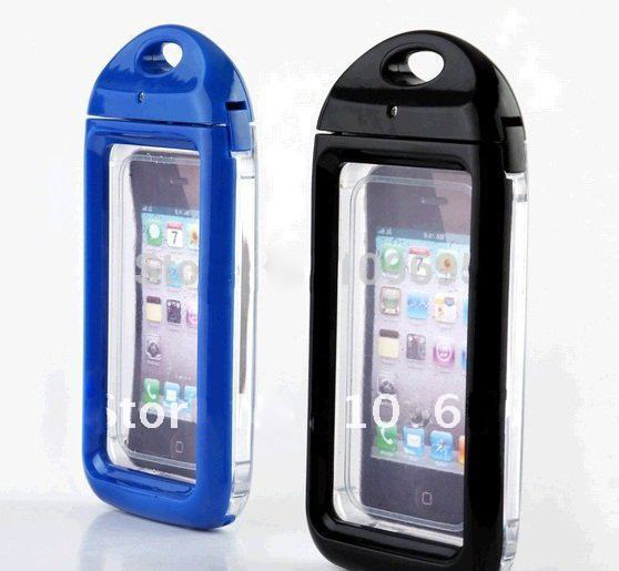 IPX8 waterproof skin bag phone case for iPhone 4 4S , hard cases cover
