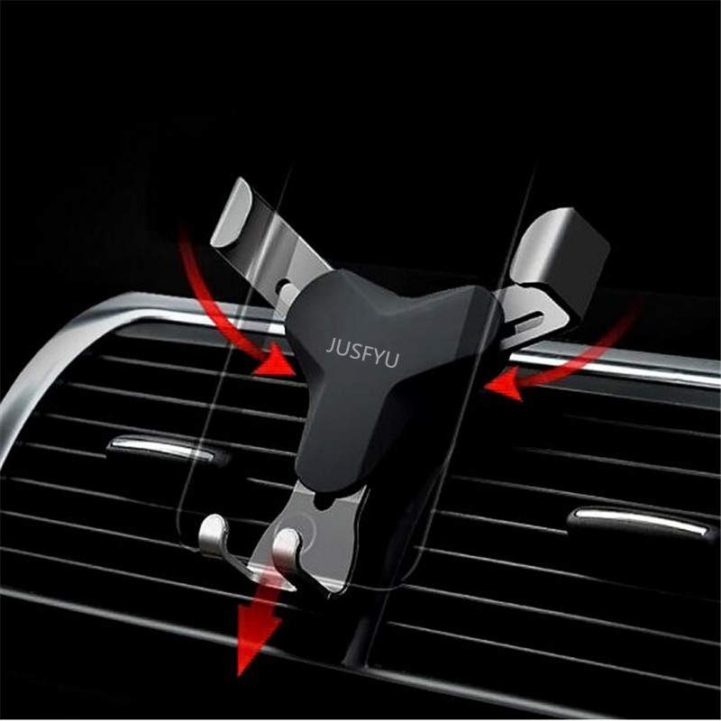 Gravity Reaction Car Mobile Phone Holder Automatic Clamping GPS Car Phone Holder For IPhone 8 7 6 6s Plus Samsung S7 S8 S9 Stand