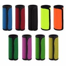 Удобный светильник с неопреновой ручкой/ручка/идентификатор для дорожная сумка чемодан подходит для любой багажной ручки клейкий кран
