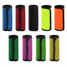 Comfortable Light Neoprene Handle Wraps/Grip/Identifier for Travel Bag
