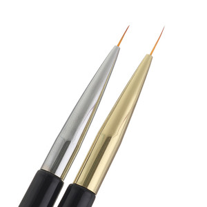 Двойная головка 1 шт., двойная головка, УФ-гель для дизайна ногтей, полировка, дизайн, точечная роспись, Детализация, ручка, кисти c0914