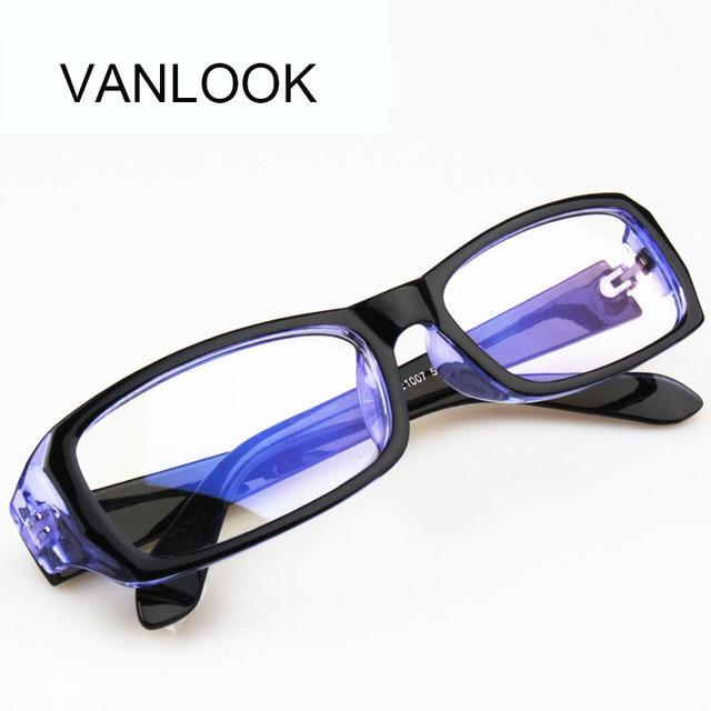 e099bd9a87c49 Anti Blue Ray Óculos de Computador óculos de Armação espetáculo Óculos  Oculos de grau Feminino Transparente