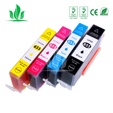 Compatible For 655 Ink Cartridge Replacement for HP 655 HP655 for deskjet 3525 5525 4615 4625 4525 6520 6525 6625 Printer ZH 2pcs alzenit oem new for hp ce 250 260 3525 4525 roller cleaning blade printer parts