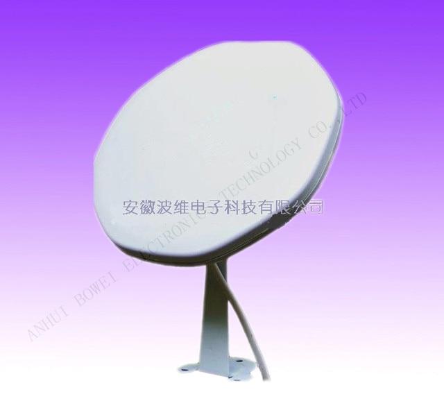 US $80 0 | Free Shipping 25cm Ku Bband Satellite Dish Antenna 10 75ghz lnb  in circular left for european -in Satellite TV Receiver from Consumer