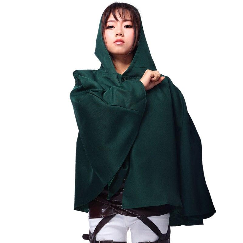 2017 Anime Cape Attack on Titan Cosplay Men Women  Shingeki no Kyojin Cloak Unisex Coser Cloak Cartoon Costumes Cosplay