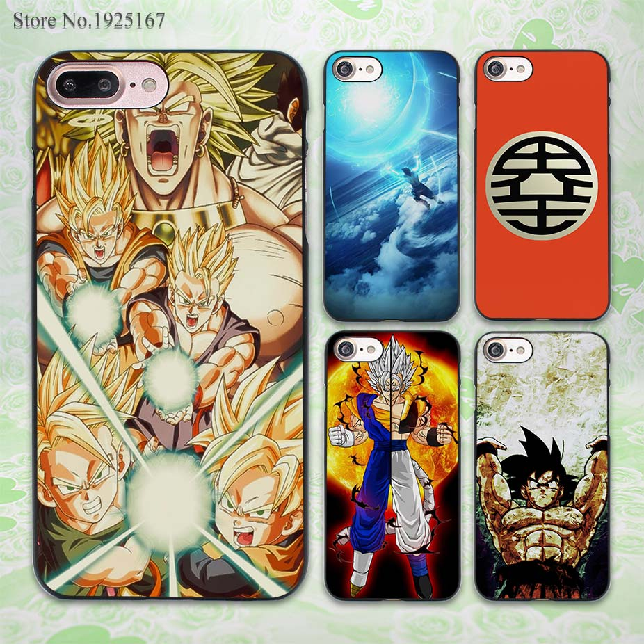 USA Seller Apple iPhone 4 /& 4S Anime Phone case  Cover Anime Characters Goku ...