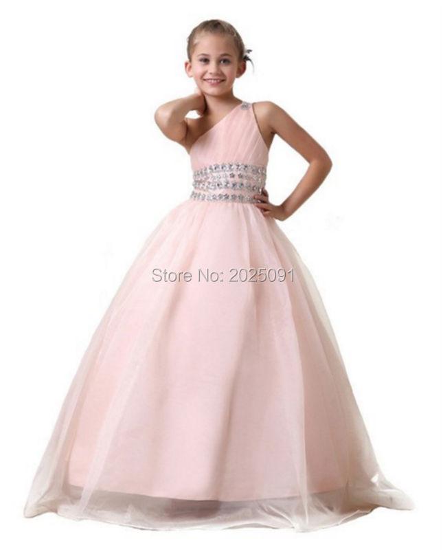 Popular Light Pink Flower Girl Dresses Cheap-Buy Cheap Light Pink ...